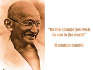 Gandhi famous quotes