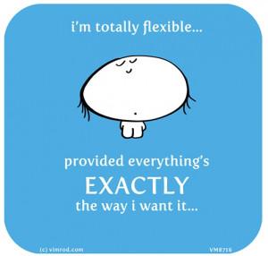Control. Flexibility. Vimrod quotes