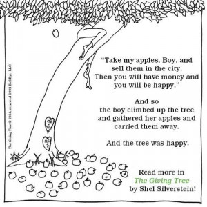 The Giving Tree / Shel SilversteinFavorite Childhood, The Give Trees ...