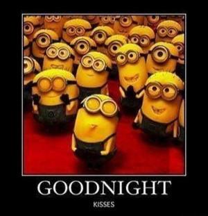Good Night Kiss - Minions Version