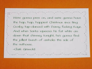 Griswold Christmas Vacation Quotes