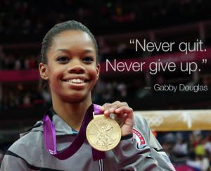 Gabby Douglas Speaks On Difficult Childhood