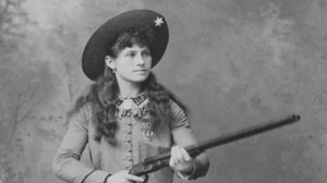 August 13, 1860: Sharpshooter Annie Oakley Born