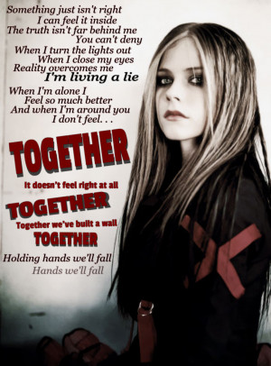 Avril Lavigne Quotes Together
