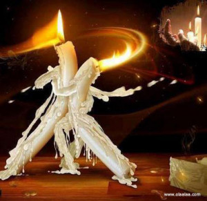 creative candles-dance-funny-pictures-images-photos