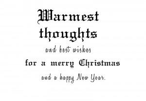Christmas Card Sayings 06