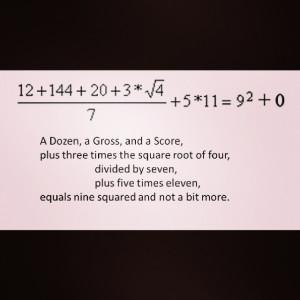 Math Funny Humor Joke Cute Rhyme Gross Score Vocabulary
