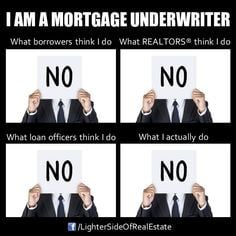 Underwriters & Mortgages