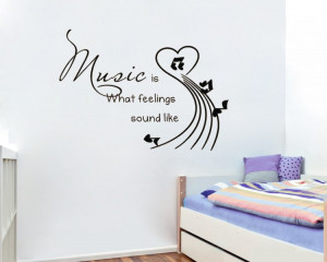 Vinyl-Removable-Wall-decals-music-funny-Quotes-photo-wallpaper-Home ...