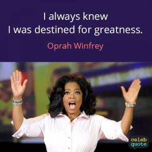 oprah winfrey quotes success