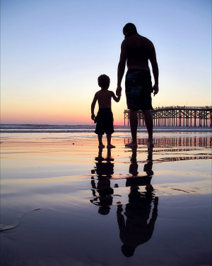 father son