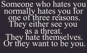 Reasons people hate you funny quote