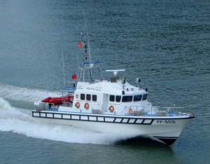 Rough Sea Boat