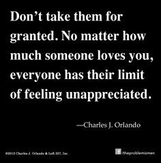 unappreciated unappreciated love quotes, feeling unappreciated quotes ...