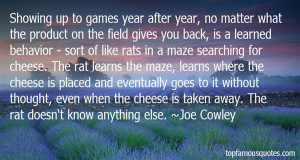 Rats And Cheese Quotes