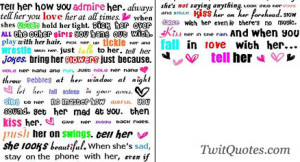 Love My Girlfriend Quotes For Facebook Always tell her you love her