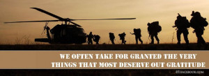 ... and quotes to put on facebook | Military Facebook Timeline Covers