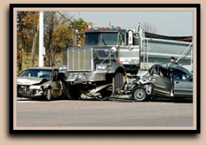 Dump Truck Car Accident