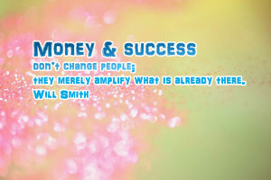 quotes about success and money