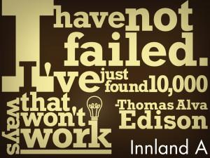 More Thomas Alva Edison's Quotes and Sayings:
