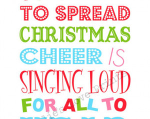 Buddy the Elf Quote Printable (You Print) ...