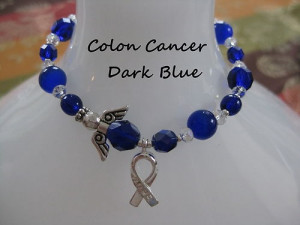 COLON CANCER AWARENESS BRACELET