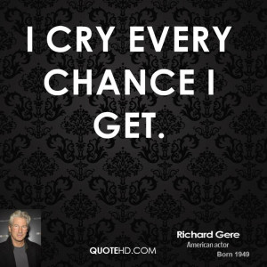 Richard Gere Dating Quotes