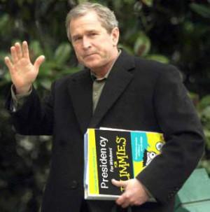 Retard is a polite euphemism for George W. Bush.