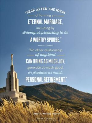 Eternal Marriage - Clayton