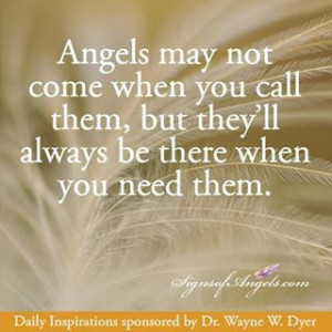 ... Angels for Your Daily Angel Inspirational Quotes Meet Wayne Dyer