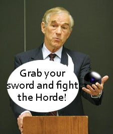 ron paul supporters plan rally in azeroth
