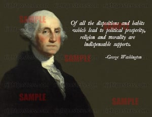 Washington religion quote