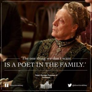 Downton Abbey Sayings ...