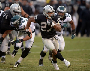 ... Philadelphia Eagles at O.co Coliseum. The Eagles defeated the Raiders