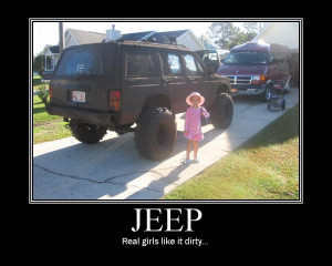 Pics and quotes of Jeeps just for laughs!