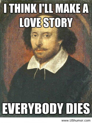William Shakespeare's love stories US Humor - Funny pictures, Quotes ...