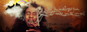 Bob Marley quotes facebook cover images