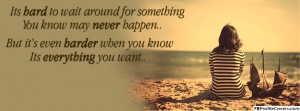 Sad Quote Lonely Girl Facebook Timeline Profile Cover Photo