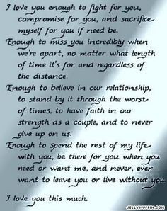Love Quotes For Your Husband | Cute Short Love Quotes For Her | How To ...