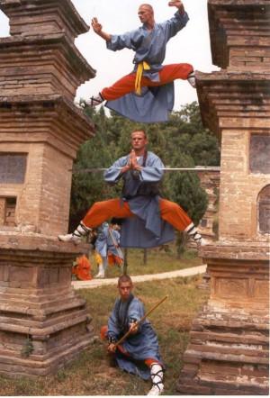 Shaolin Kung Fu agility training
