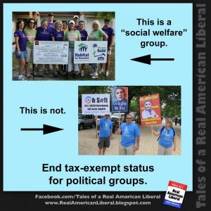 Tea Party groups do