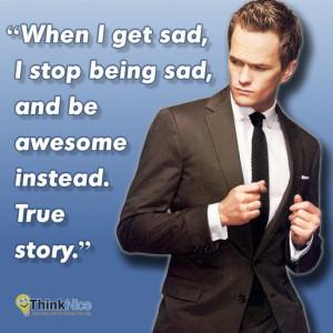 Barney Stinson True Story Quotes