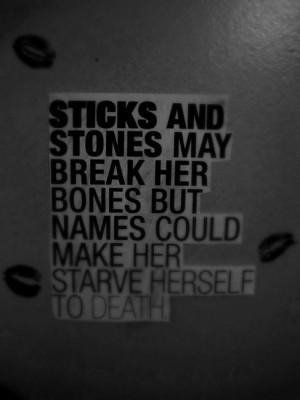quotes Anorexia View Original Image