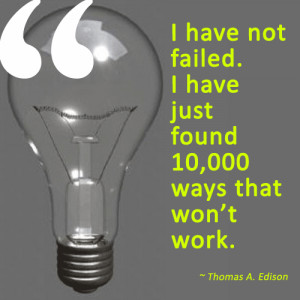 failure quote thomas edison