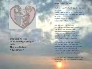 Brown Pride Sad Love Poems Your stubbornness and pride