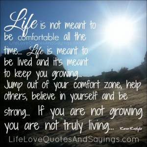 believe in yourself and be strong..
