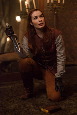 """... zur Supernatural Folge """"LARP and the real Girl"""" mit Felicia Day"""