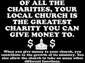spiritual quotes photo: Of All The Charities Your Local Church Is The ...