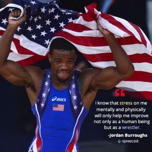 Jordan Burroughs reveals how he mentally prepares for a match ...
