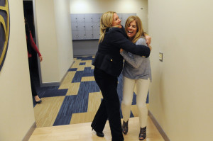 Did you miss this photo story about Pitt coach Suzie McConnell Serio